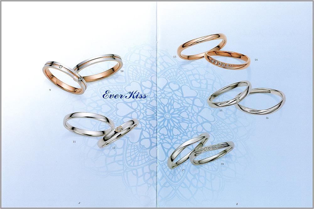ピンキー&ダイアン結婚指輪のカタログ3