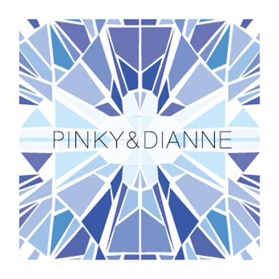 ピンキー&ダイアンのロゴ
