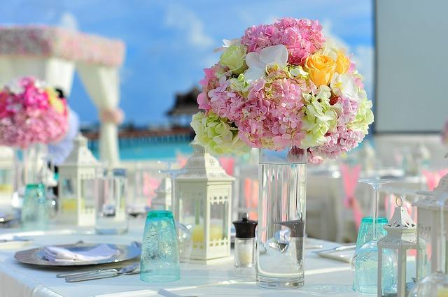 昼間の結婚式